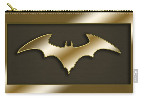 Golden Bat Carry-all Pouch