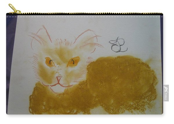 Golden Cat Carry-all Pouch