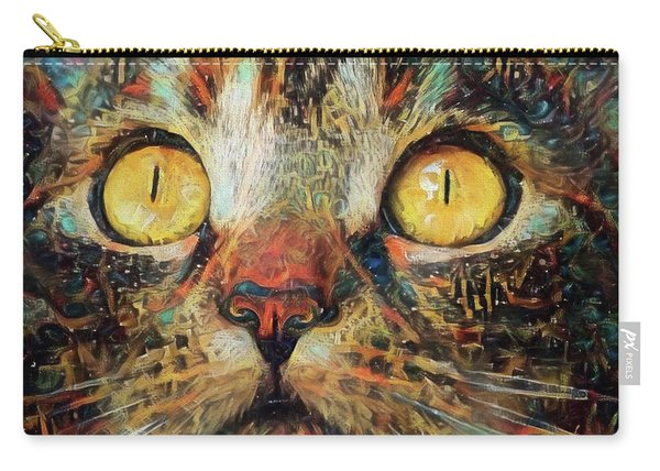 Golden Eyes Dreaming Carry-all Pouch