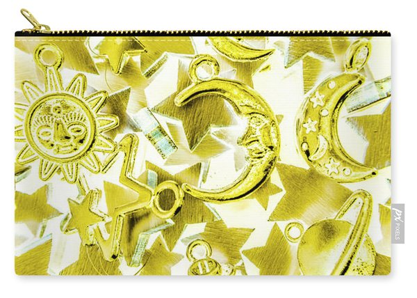 Golden Galaxy Carry-all Pouch