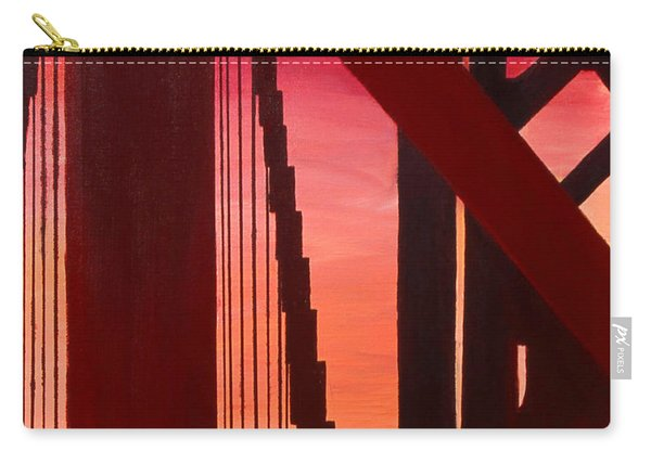 Golden Gate Art Deco Masterpiece Carry-all Pouch