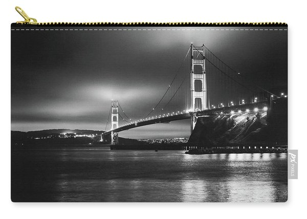 Golden Gate Bridge B/w Carry-all Pouch