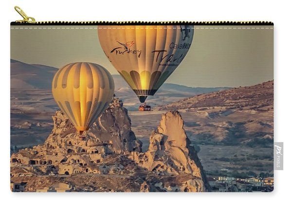 Golden Hour Balloons Carry-all Pouch