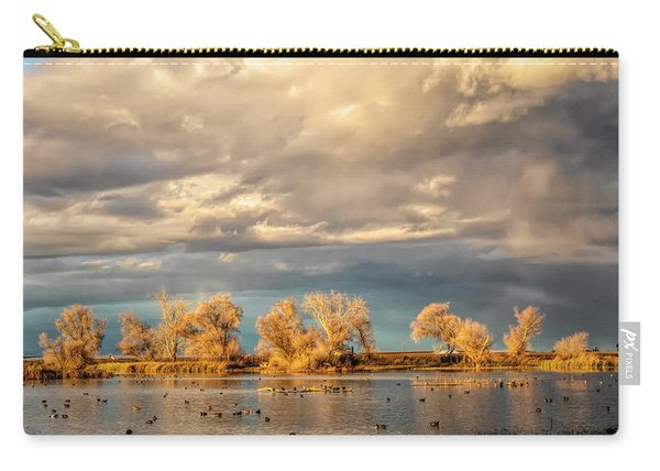 Golden Hour In The Refuge Carry-all Pouch