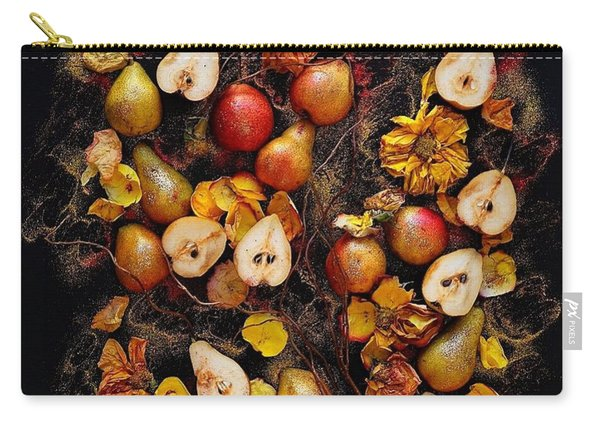 Golden Pear Tree Carry-all Pouch