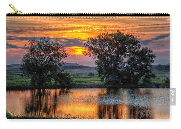 Golden Pond At 36x60 Carry-all Pouch