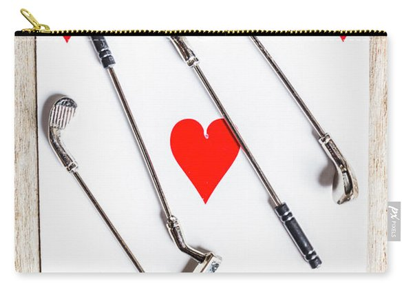 Golf Club Love Carry-all Pouch