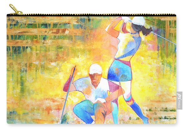 Golf Maniac Carry-all Pouch