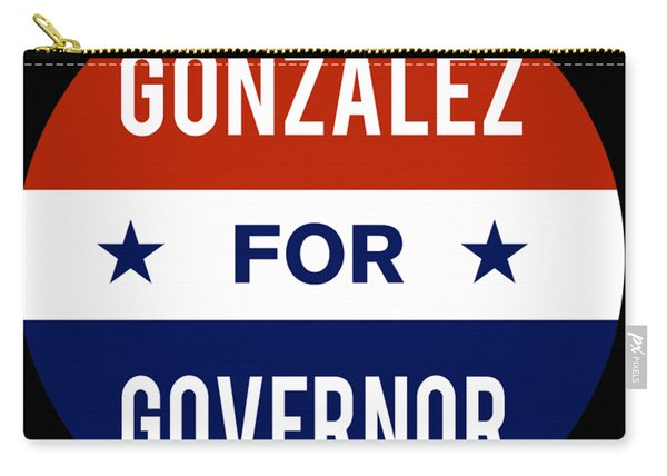 Gonzalez For Governor 2018 Carry-all Pouch