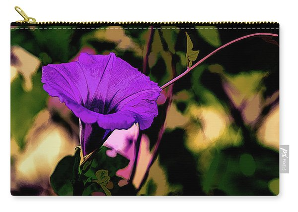 Good Morning Glory Carry-all Pouch