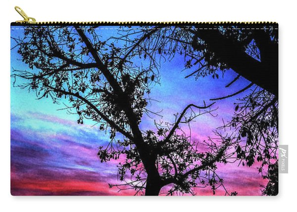 Good Night Leaves In Fall Carry-all Pouch