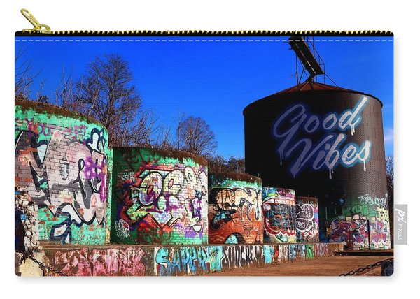 Good Vibes Asheville North Carolina Carry-all Pouch