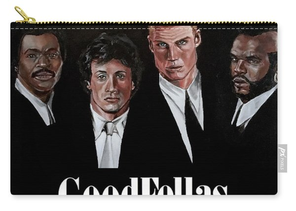 Carry-all Pouch featuring the painting Goodfellas - Champions Edition by Joel Tesch