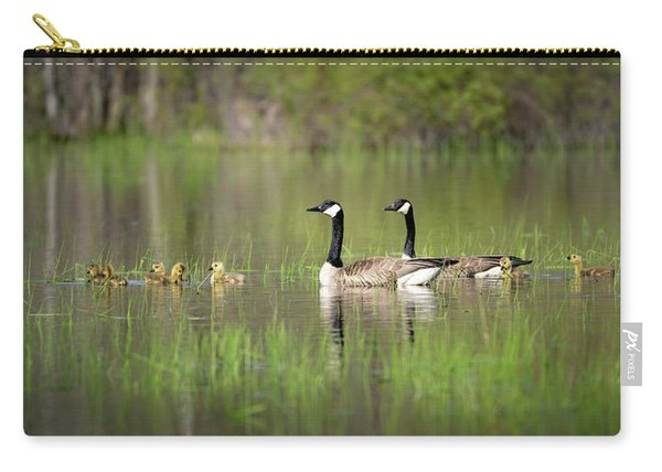 Goose Family #5 Carry-all Pouch