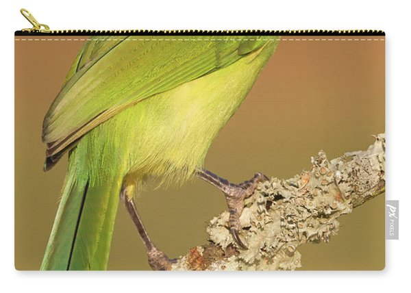 Gorgeous Green Jay Carry-all Pouch