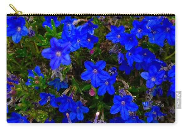 Grace In Blue Carry-all Pouch