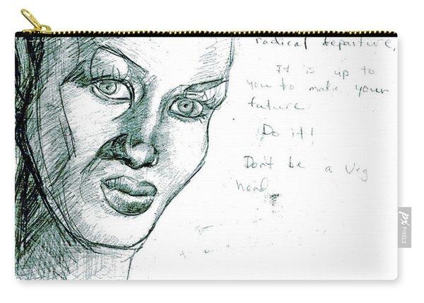 Grace Jones Carry-all Pouch