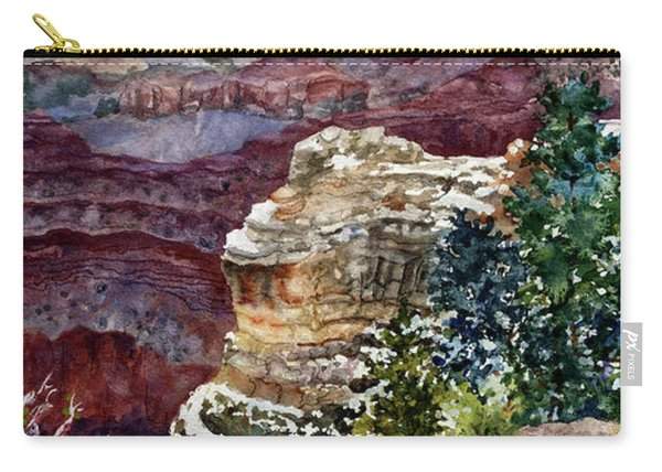 Grand Canyon Winter Day Carry-all Pouch