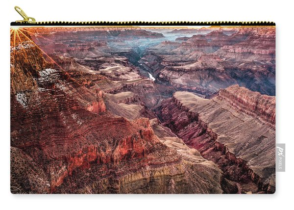 Grand Canyon Winter Sunset Carry-all Pouch