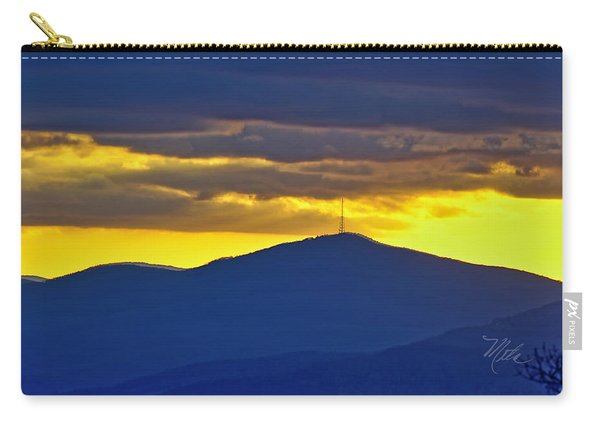 Grandmother Mountain Sunset Carry-all Pouch