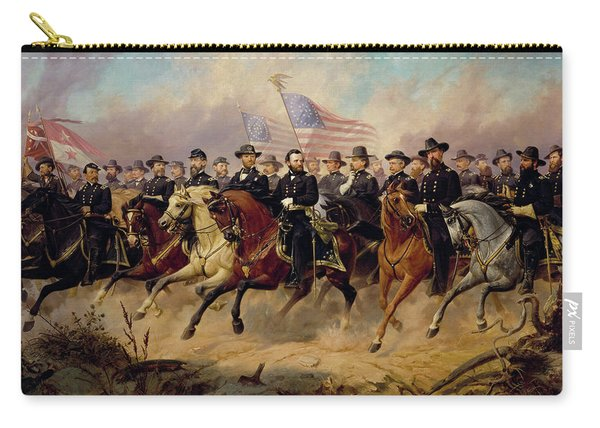 Grant And His Generals, 1865 Carry-all Pouch