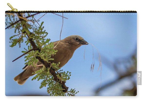 Gray-headed Social Weaver Carry-all Pouch