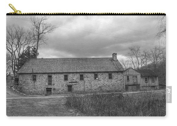 Grey Skies Over Fieldstone - Waterloo Village Carry-all Pouch