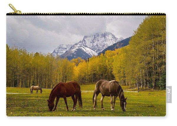 Grazing In Aspen Carry-all Pouch
