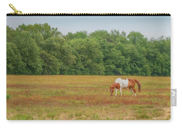 Grazing Paint Horse Carry-all Pouch