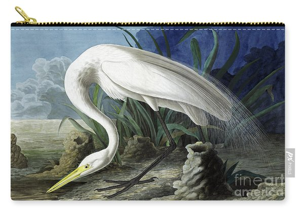 Great Egret, Casmerodius Albus Carry-all Pouch