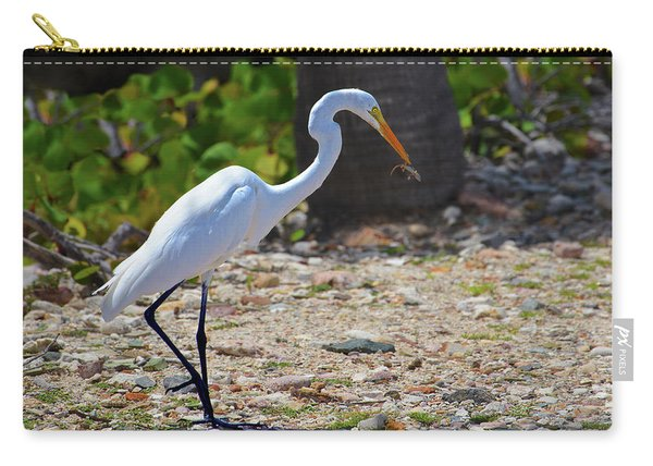 Great White Egret Hunter Carry-all Pouch