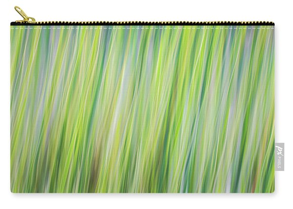 Green Grasses Carry-all Pouch