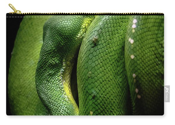 Green Tree Boa Carry-all Pouch