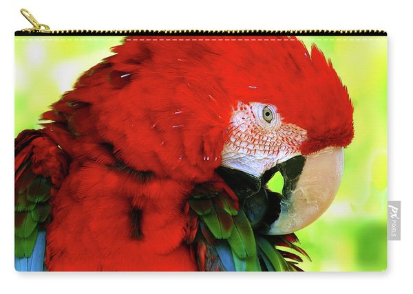 Green-winged Macaw Carry-all Pouch