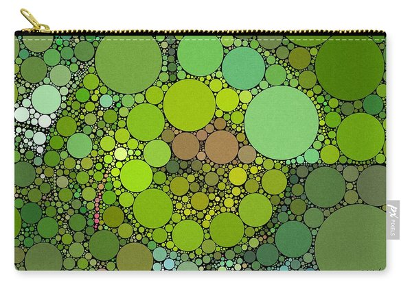 Green With Envy Carry-all Pouch