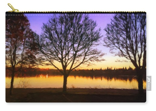 Greenlake Dawn Intensity Carry-all Pouch