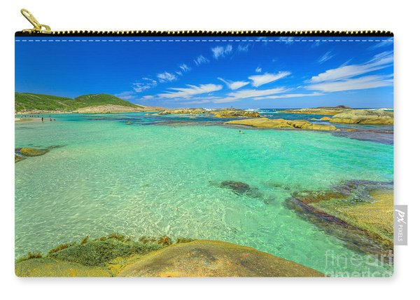 Carry-all Pouch featuring the photograph Greens Pool Australia by Benny Marty