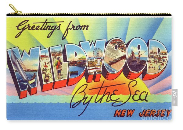 Wildwood Greetings - Version 1 Carry-all Pouch