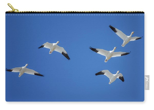 Group Of Geese Carry-all Pouch