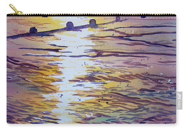 Groynes And Glare Carry-all Pouch