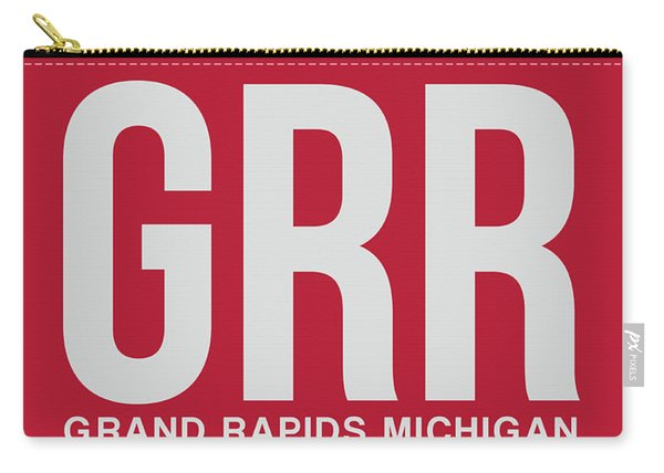 Grr Grand Rapids Luggage Tag II Carry-all Pouch