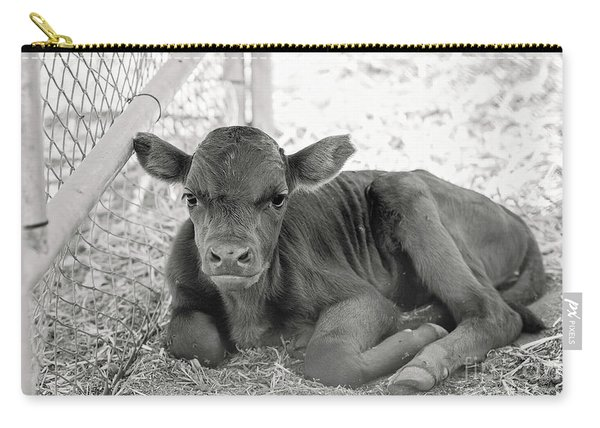 Grumpy Cow Carry-all Pouch