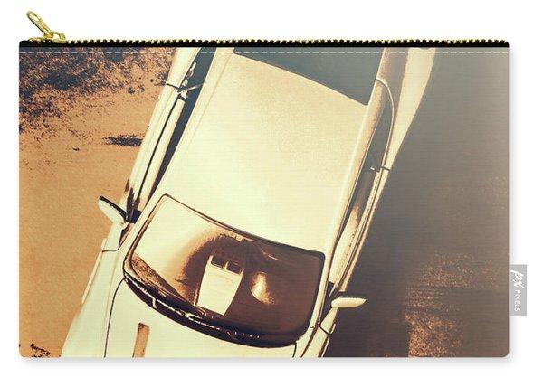 Grunge Garage Carry-all Pouch