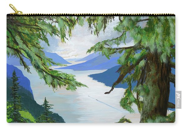 Guided Through The Fjords Carry-all Pouch