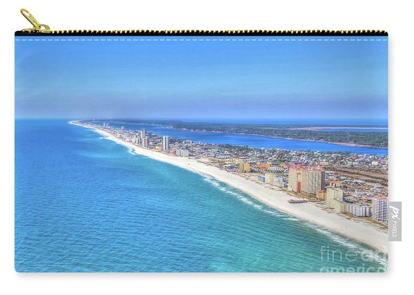 Gulf Shores Beaches 1335 Tonemapped Carry-all Pouch