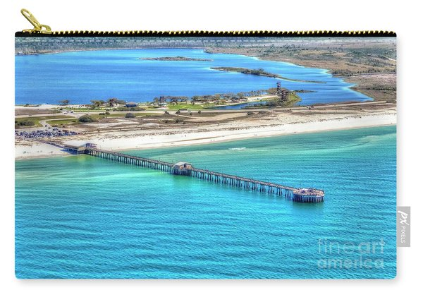 Gulf State Park Pier 7464p3 Carry-all Pouch