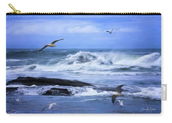 Gulls Just Wanna Have Fun Carry-all Pouch