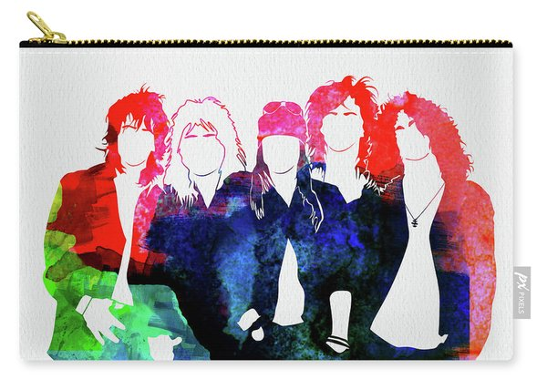Guns N' Roses Watercolor Carry-all Pouch