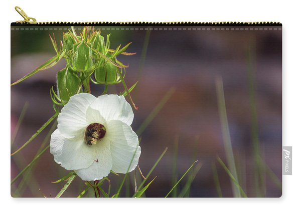 Halberd Leaf Rosemallow Carry-all Pouch