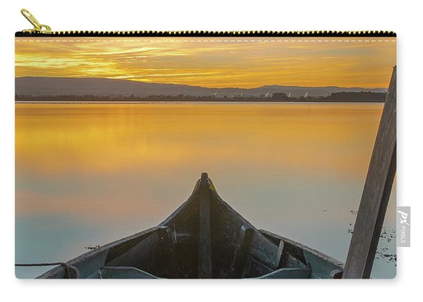 Half A Boat Carry-all Pouch